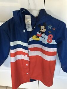 Mickey Mouse rain coat