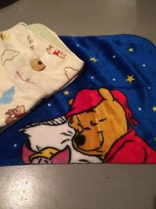 Winnie the Pooh soft blankets