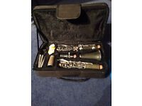 Clarinet good working order with spare reeds+book great gift