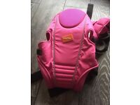 Baby way pink carrier