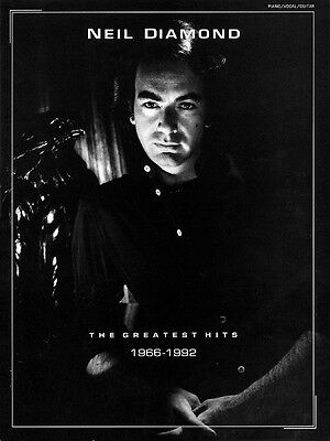 Neil Diamond The Greatest Hits 1966-1992 Sheet Music Piano Vocal Guita 000308134