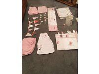 Mamas & papas girls scrapbook nursery set