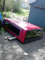 Well Maintained Used Truck Cap - NEW PRICE
