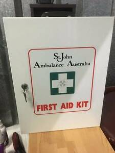St John Ambulance FIRST AID KIT BOX Mona Vale Pittwater Area Preview