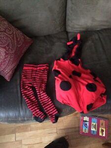 18month ladybug costume