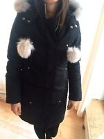 Ladies Moose Knuckles Sterling Parka Size Small