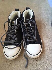 Men's / Boys Next Shoes / trainer boots size 6