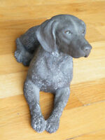 RARE SIGNED GERMAN SHORT-HAIRED POINTER #372 SANDICAST SCULPTURE