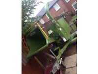 Arbor easter wood chipper, wood chipper , chipper , shredder , tree chipper , tree surgeon ,