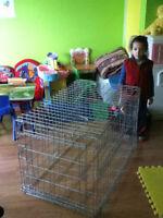 Grosse cage pour chien