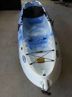 "SALE  ""WINNER"" Velocity II Sit-on-top Kayak W/Paddle"