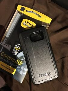 Black Otterbox Case for Samsung Galaxy s6 West Island Greater Montréal image 1