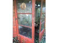 Summer house doors or use the glass x6 panels