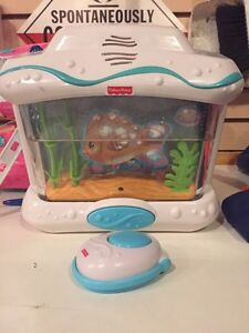Ocean Aquarium Fisher Price Baby Crib Edmonton Edmonton Area image 1