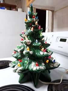 Ceramic Christmas tree, 17""