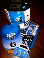 NEW: LOT MONTREAL IMPACT MLS SNAPBACK CAP + FOULARD +BALLON 5 City of Montréal Greater Montréal Preview