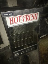 Heated pie warmer hot hold cabinet £150