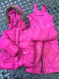 Baby Gap down-filled snowsuit -size 2