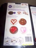 Chocolate mold and acc.