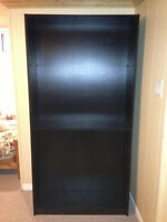 Wooden Bookcase Shelving Unit With 1 Shelf Great Condition Wood