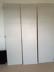 Wooden doors for kitchen cabinets or wardrobe