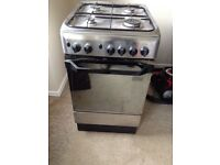 500mm wide gas oven and hob