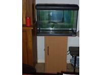 70L Fish Tank Mirabello Aquarium with stand