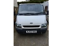 Ford transit 3 way tipper with 10 months mot