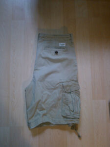 Abercrombie and Fitch Shorts (Light Khaki)