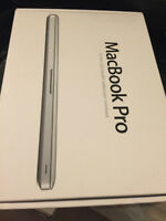 Like new in box Apple MacBook Pro 13.3 LED with upgraded SSD