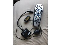 Sky tv link and remote