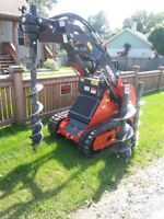 John's Post Holes!! Mini backhoe service! Call now Call anytime!