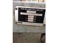 I for Williams twin axel breaker trailer