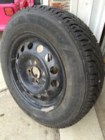 Goodyear winter tires with rims