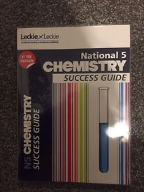 National 5 chemistry success guide revision book