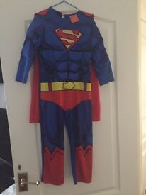 Superman outfit age 5-6