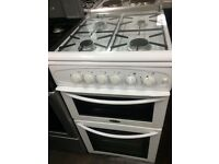 White belling 50cm gas cooker grill & oven good condition with guarantee bargain