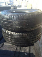 $149 for QUALITY USED all season tire pairs INSTALLED - NO TAX