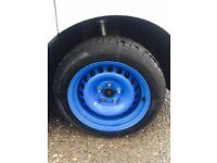 Banded steel wheels for t5 16 inch
