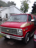 1982 Chevrolet G20 Van Shaggin' Other