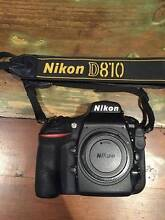 Nikon D810 BODY ONLY South Yarra Stonnington Area Preview
