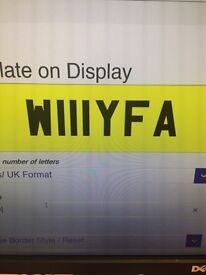 Willy Fa?? Private plate