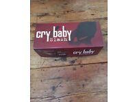 Dunlop cry baby wah pedal slash