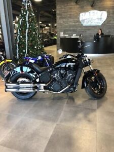 2019 Indian Motorcycle Scout Sixty Thunder Black