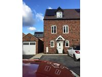 Brand new 3 bed town house swap for 2-3 bed in north Leamington Area
