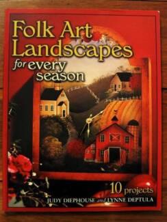 Folk Art Landscapes For Every Season - Diephouse & Deptula