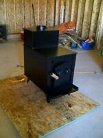 ACADIAN AND SCOTIAN WOOD STOVE