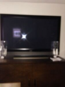 "58"" Plasma Flat Panel TV-$450 firm (cash only)"
