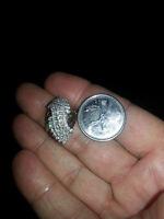 Huge diamond dinner ring