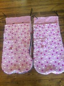 2 x Buggy Snuggles (rrp £39.95 each)